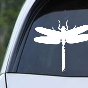 Dragonfly Silhouette (02) Die Cut Vinyl Decal Sticker