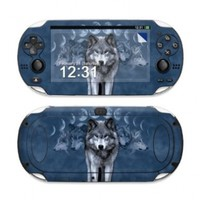 Wolf Cycle Design Protective Decal Skin Sticker (Matte Satin Coating) for Sony Playstation PS Vita Handheld
