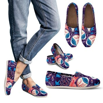 Eyeball Illustration Casual Shoes