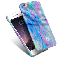 Cool Marble Hard Plastic iphone case for iphone 6 6s