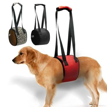 Dog Lift  Support Harness  For K9 Aid Lifting Older Canine  with handle for Injuries Arthritis or Weak hind legs & Joints