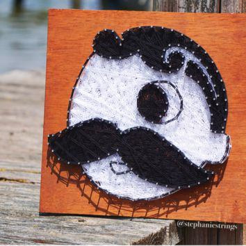 Natty Boh Logo / String Art