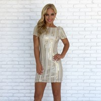 Never A Dull Moment Sequin Dress