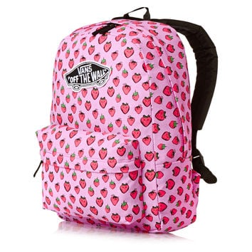 Vans Realm Backpack - Strawberries