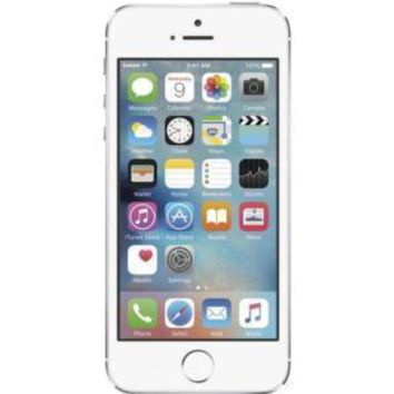 Refurbished Apple iPhone 5s 16GB - Silver - Unlocked | eReplacements