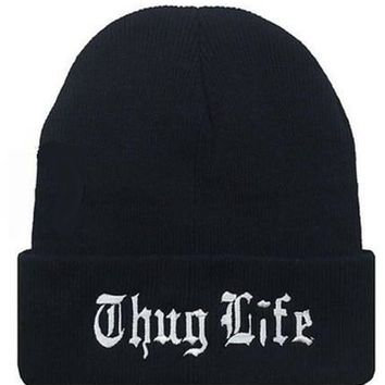 Day-First™ THUG LIFE Knitted Beanie