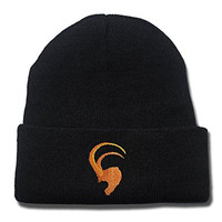 DEBANG Thor Loki Tom Hiddleston Beanie Unisex Embroidery Knitted Hats Skullies Skull Caps Beanies