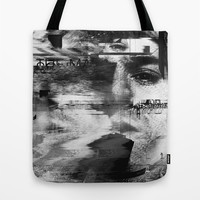 Kurt Cobain Tote Bag by Nicebleed