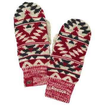 Reebok Minnesota Wild Ladies Face-Off Mittens - Red/Green