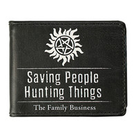 Supernatural Family Business Bi-Fold Wallet