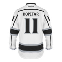 Anze Kopitar Los Angeles Kings Reebok Premier Replica Road NHL Hockey Jersey