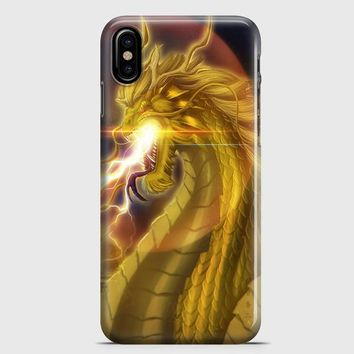 King Ghidorah iPhone X Case
