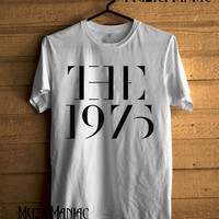 Hot The 1975 Band Shirt The 1975 T-shirt Logo Printed Black And White Unisex Size - NK11