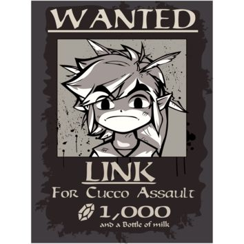 """Link Wanted! Canvas Poster 18"""" x  24"""""""