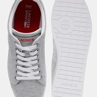 Lacoste Carnaby Marl Trainers at asos.com