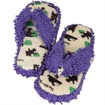 CREYCY8 Bear Huckle-Beary Women's Spa Slippers