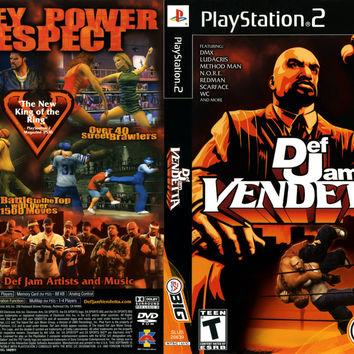 Def Jam Vendetta - Playstation 2 (Ugly Game Only)