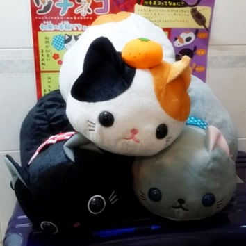 (55cm long) Tsuchineko Kitty Wagokoro Series big plush by Amuse who produced arpakasso alpacasso from ROSY'S GARDEN