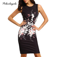 New fashion Women Casual 2016 Summer women sleeveless sundresses heart print Camouflage dress female loose Vestidos dresses