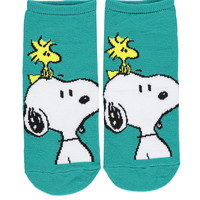 Snoopy and Woodstock Socks