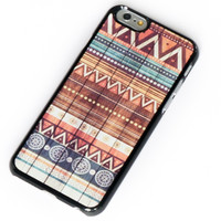Wooden Aztec iPhone 6 plus Case Wood Native iPhone Case iPhone 5 Case