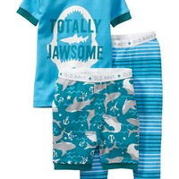 Old Navy 3 Piece Shark PJ Sets For Baby