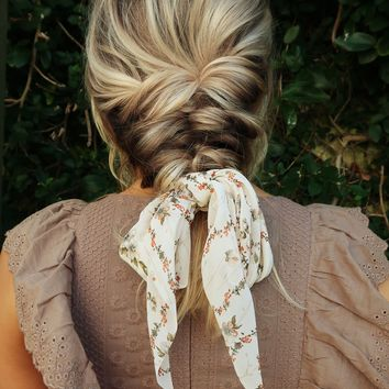 One More Feeling Hair Scarf: Multi