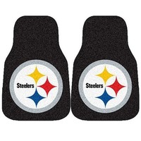 Fanmats Pittsburgh Steelers Nfl Car Floor Mats 2 Front