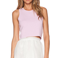Elizabeth and James Fitted Tank in Pink