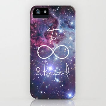 To Infinity and Beyond Galaxy Nebula iPhone Case by RexLambo | Society6