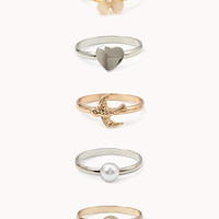 Dainty Ring Set | FOREVER 21 - 1062898663