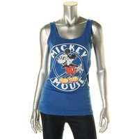 Disney Womens Knit Graphic Tank Top