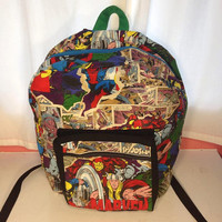 Available in other fabric designs, Marvel Backpack