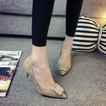ICIK0OQ Summer Rubber Pointed Toe High Heel Shoes [9432943242]