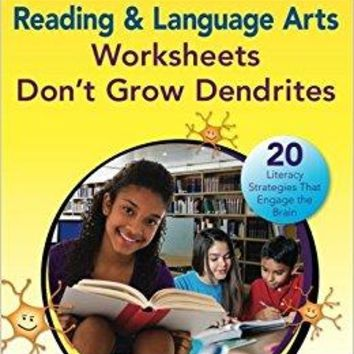 Reading & Language Arts Worksheets Don't Grow Dendrites 2