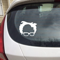 Bernie Sanders Decal, Bernie Sanders Sticker, Bernie Sanders, Bernie, Feel The Bern, Sanders, Bernie Decal, Feel The Bern Decal