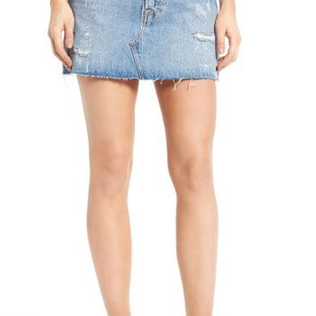 Levi's® Deconstructed Denim Skirt | Nordstrom