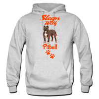 SLEEPS-WITH-PITBULL hoodie