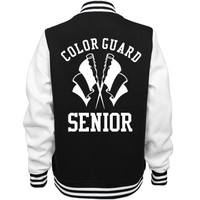 Color Guard Seniors Team Jacket: This Mom Means Business!