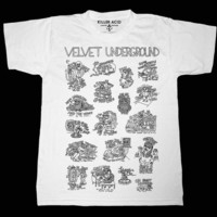 The Velvet Underground (White Tshirt)