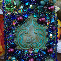 Tantalizing Turquoise and Sapphire iPhone 4/4S Case