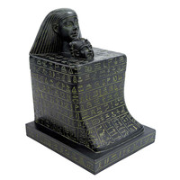 Heads Of Egyptian Mother & Son Ashtray