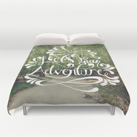 Adventure Duvet Cover by August Decorous