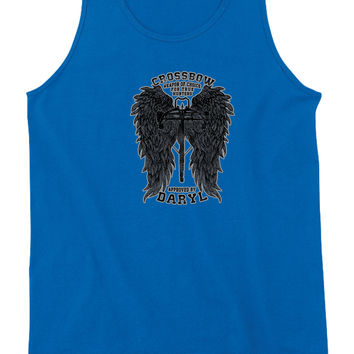 Crossbow Daryl Dixon Womens Tank Top