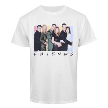 FRIENDS CAST LOGO T-SHIRT