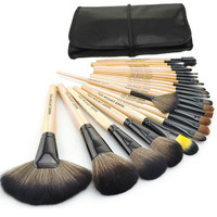 Soft Bristle Make Up Set - 24 brushes
