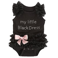 Kids Baby Girls Clothes Lace Tulle Ruffles Bow Romper bodysuit baby girl clothes bodysuits Outfits