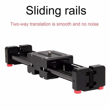 """16"""" 40cm Extendable to 32"""" 80cm Retractable Camera Video Slider Dolly Track Rail Stabilizer Load Up To 8kg For Canon Cameras"""