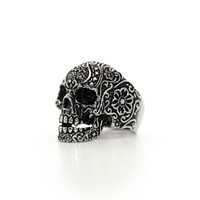 Skull ring Mexicano - Rings - Jewelry | Mad Lady