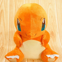 Hot ! kawaii Pokemon Plush Toys Charmander 12cm Cute Stuffed Plush Toy Doll Anieme Pokemon For Kids Birthday Christmas Gift